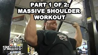 Shoulder Workout | Shoulder Training With Ben Pakulski