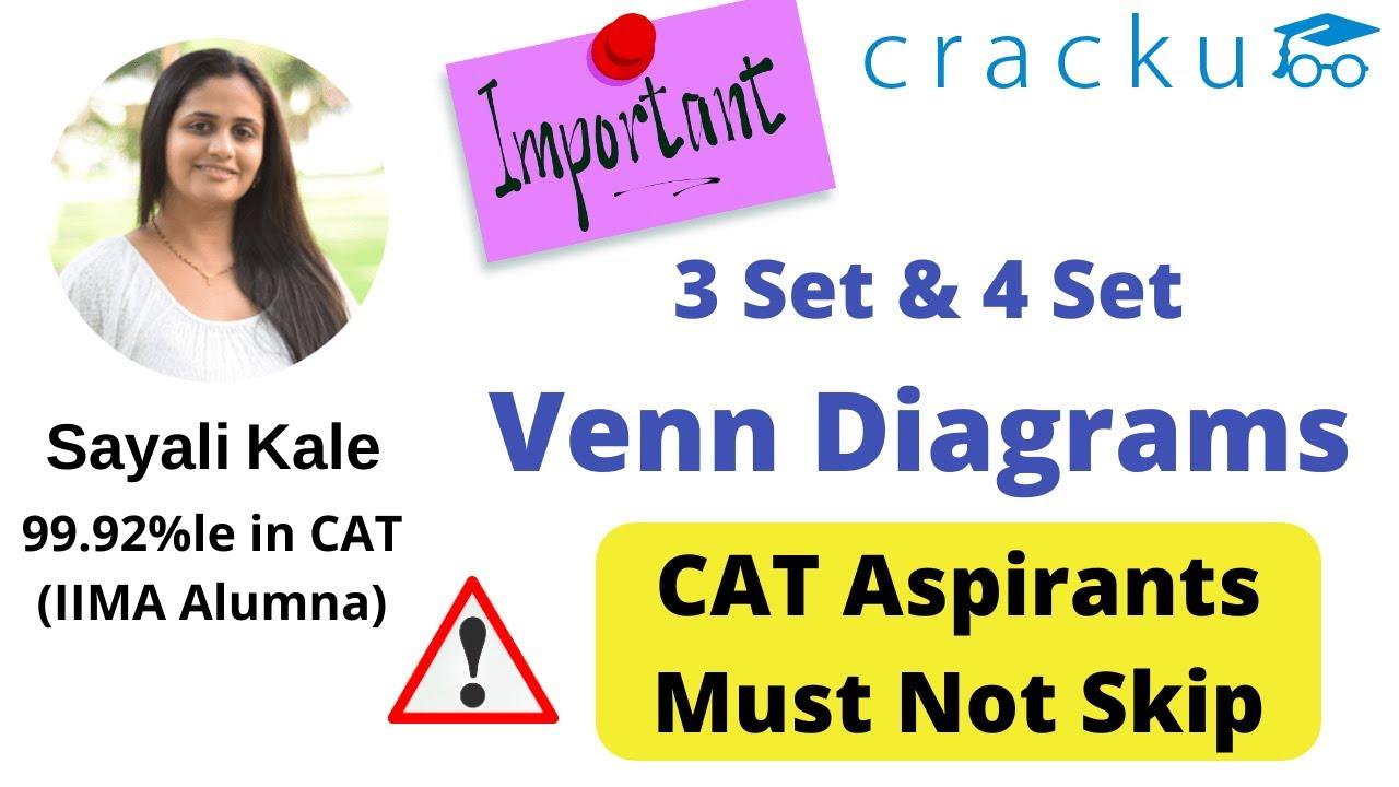 venn diagrams concepts  u0026 questions for cat  u26a0 ufe0f don u0026 39 t skip