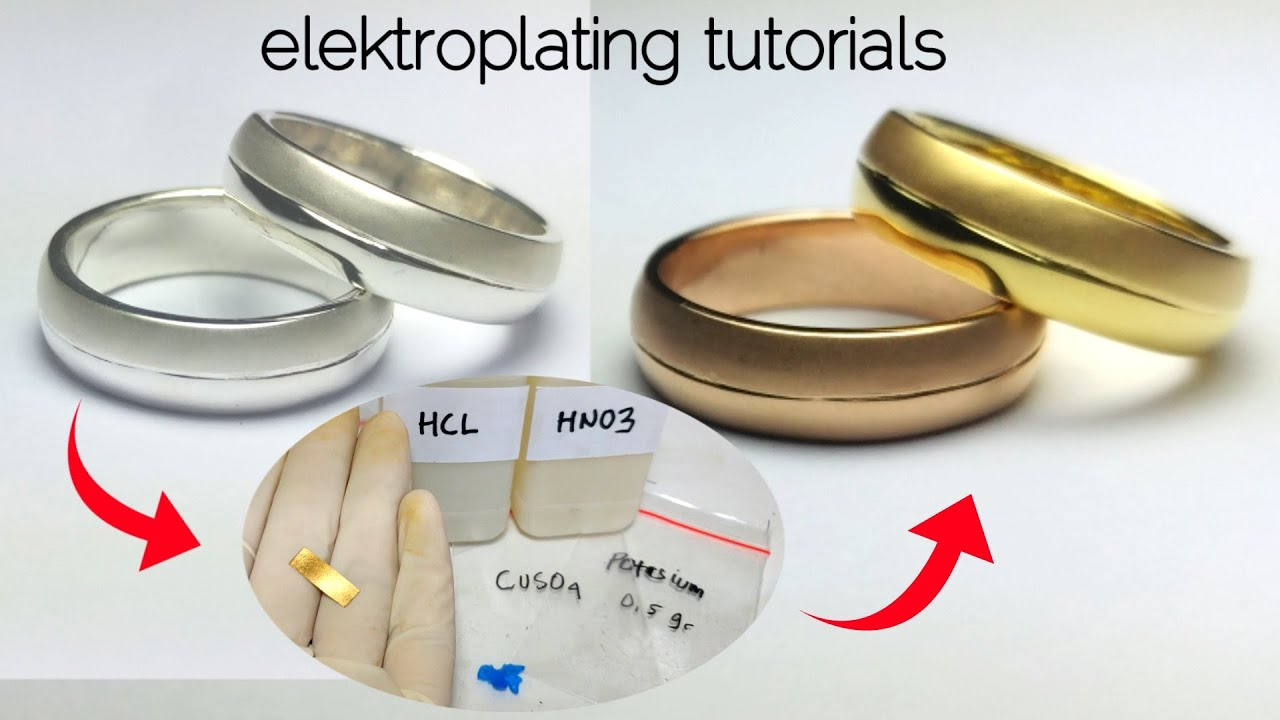 Download how to make gold solution    silver gold and rose gold plated