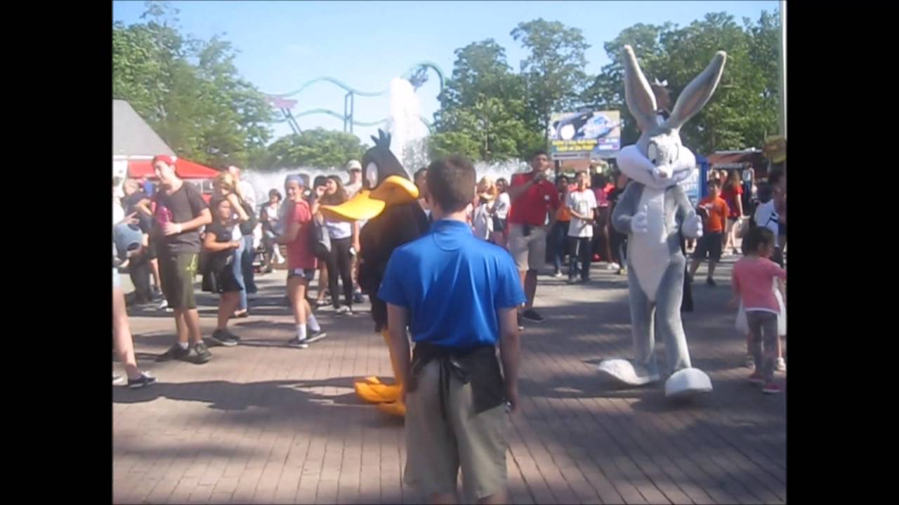 Six flags dance party