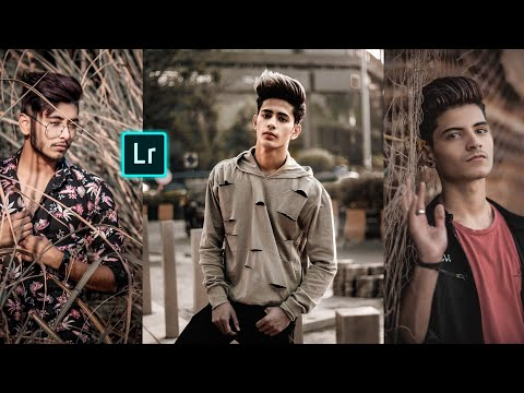 How To Edit MOODY BROWN -Lightroom Mobile Editing / Hindi Tutorial