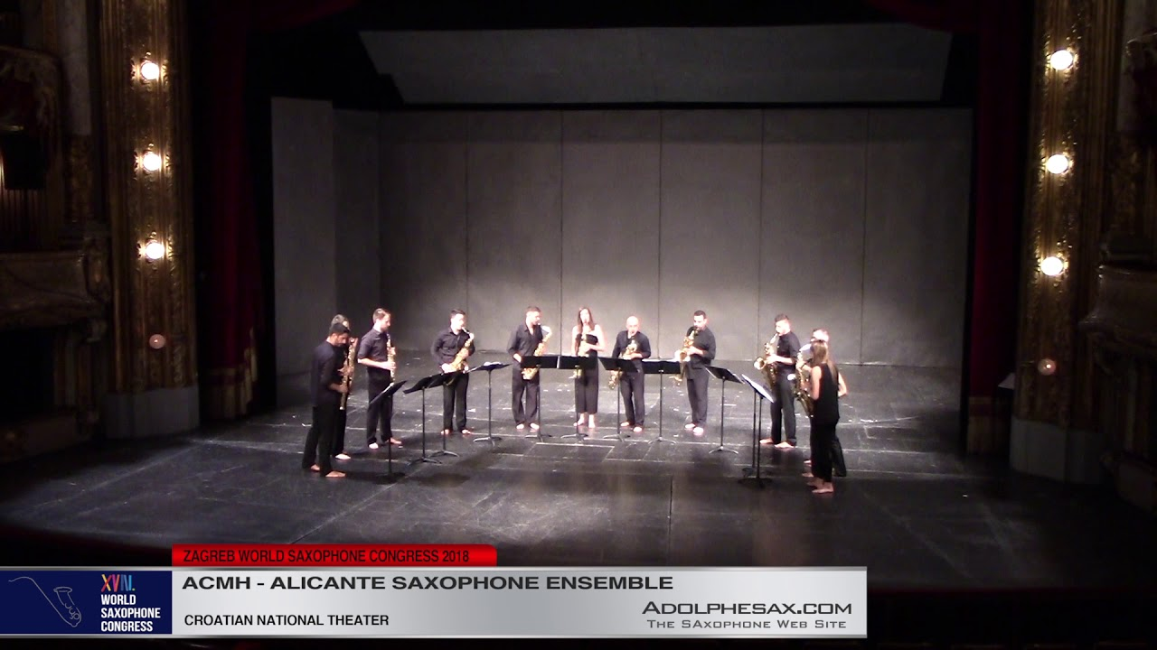 Sureste by Sixto Herreros   Ensemble de Saxofones de Alicante   XVIII World Sax Congress 2018 #adolp