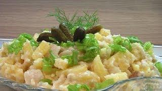 Салат из трески с хреном видео рецепт. Книга о вкусной и здоровой пище