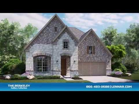 The Berkeley Home Tour - Lennar Dallas - Ft Worth