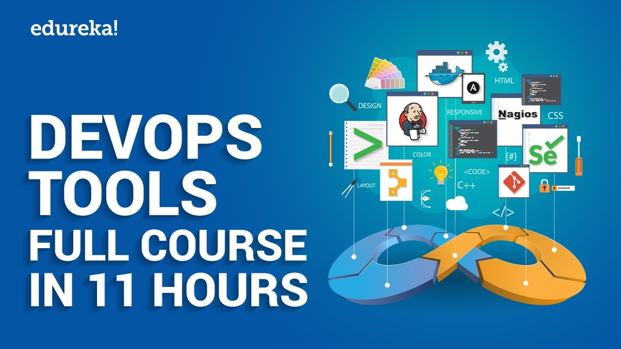 DevOps Tools Full Course in 11 Hours   DevOps Tools Tutorial   DevOps Training