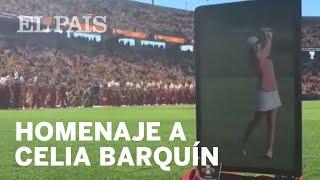 CELIA BARQUÍN | El homenaje de la Universidad de Iowa a la golfista española