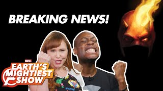 Breaking Daredevil News!   Earth's Mightiest Show