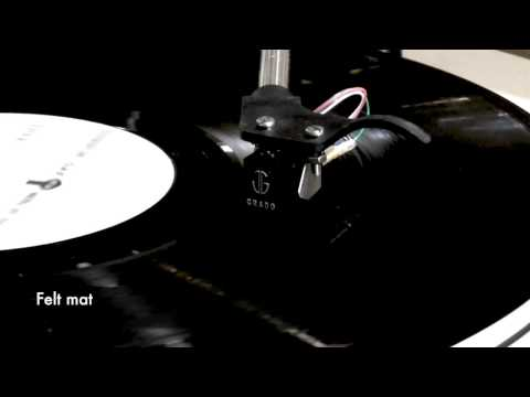 Felt Mat vs Bare Acrylic Platter