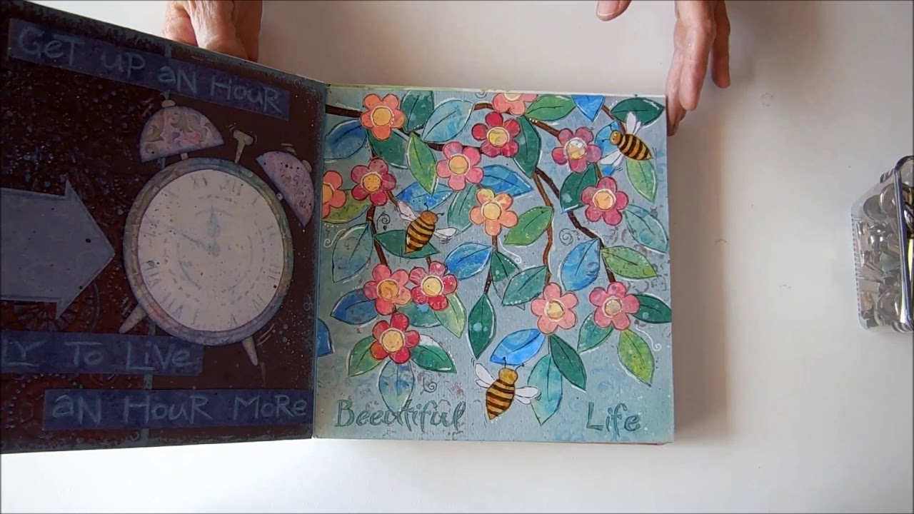 Binding Loose Journal Pages Into A Book You