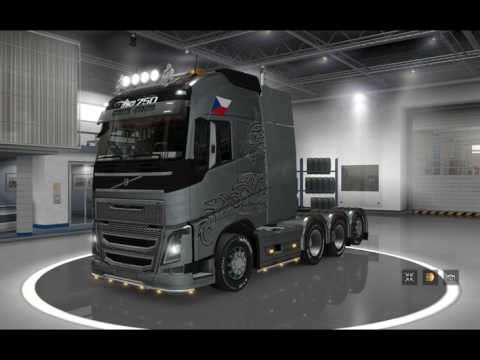 [ETS2]Euro Truck Simulator 2 NEW VOLVO FH16 2012 Ver.14.0