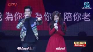 [CuzYooJung Vietsub - Pinyin] Kim Yoo Jung ft  Eric Chou   How Have You Been