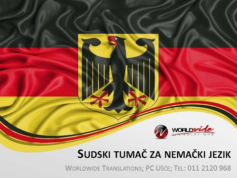 Sudski Tumac Za Nemacki Prevodilac Sa Nemačkog Na Srpski I