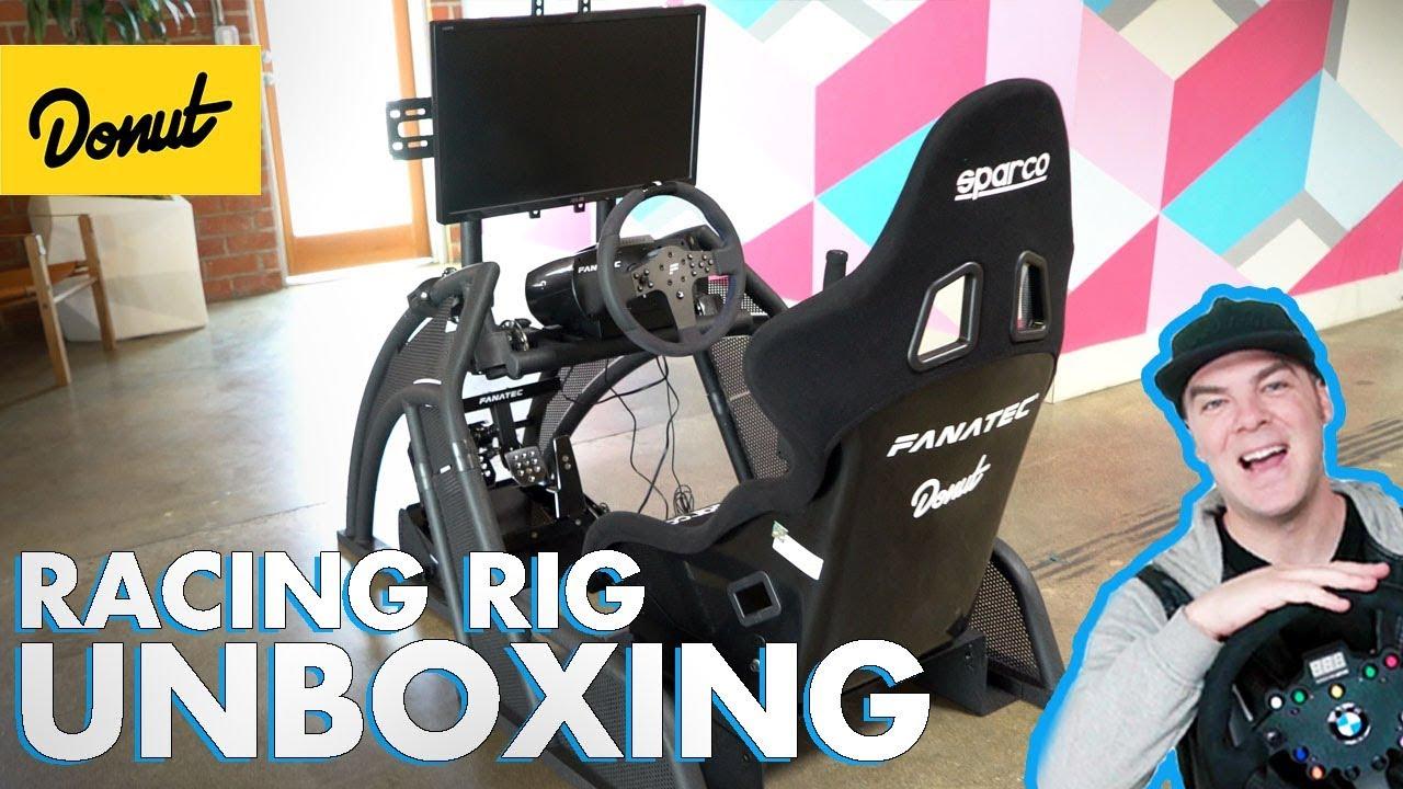 Unboxing My Dream Sim Racing Setup   The Bestest