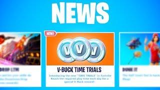 the New FREE V-BUCK CHALLENGES in Fortnite (FREE 1,000 V-BUCKS)