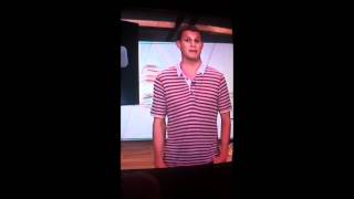 The loch ness monster is in Daniel Tosh's pants