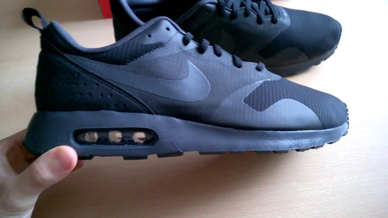 9a9452c0c0212 Unboxing butów/ shoes Nike Air Max Tavas 705149-010 - YouTube