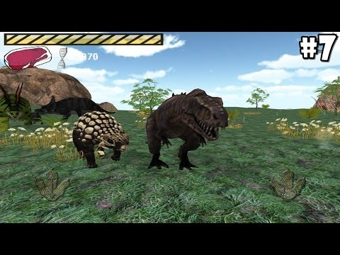 Raptor RPG - Online -Spinosaurus & T-Rex- Android / IOS - Gameplay Part 7