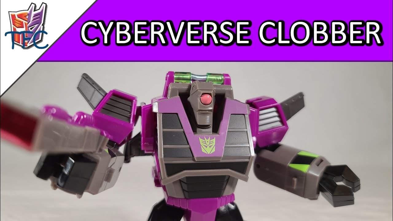 TF Collector Cyberverse Clobber Review!