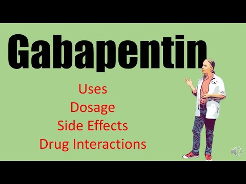 Gabapentin Side Effects 100mg 300 Mg Dosage For Nerve Pain And Withdrawal