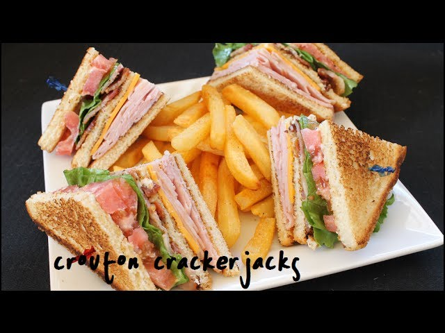 How To Make Club Sandwiches Club Sandwich Recipe Youtube