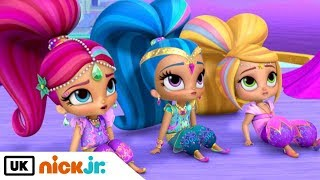 shimmer and shine full makeup hair and costumes