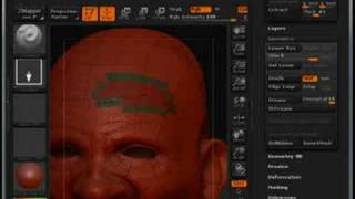 ZBrush Subdividing Only a Small Section of a Tool