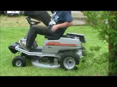 Sears Craftsman Rear Engine Hot Rod Mower Youtube