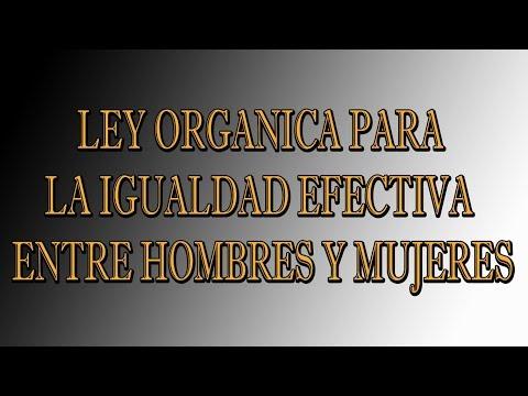 ley-organica-para-la-igualdad-efectiva-entre-hombres-y-mujeres