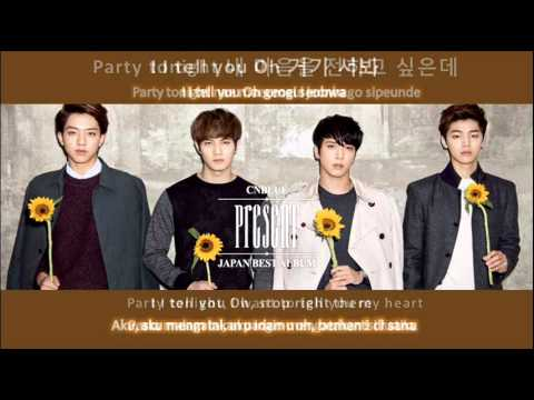 CN Blue Lady (Hangul + Romanized + English sub +Indonesian Sub)