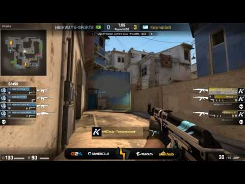 [ES] Keymotion vs HIGHWAY | Liga Principal Gamers Club | Final Upper Bracket | Mirage (Mapa 2)