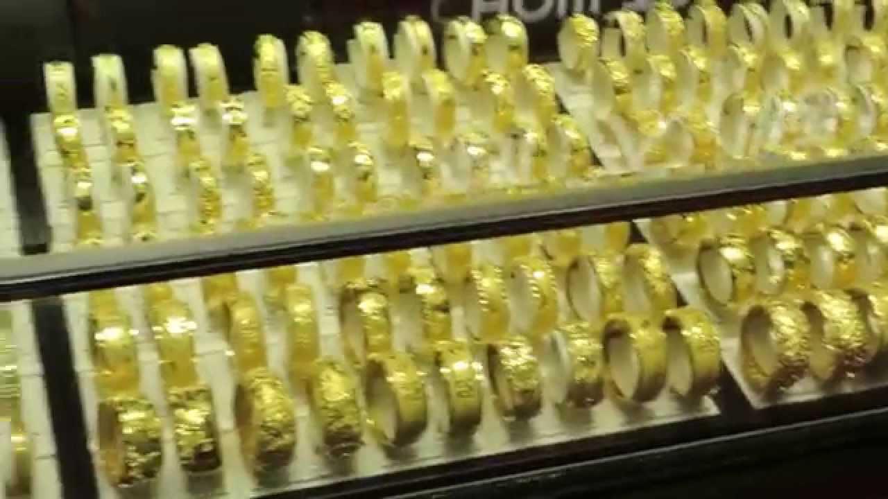 Chow Tai Fook Hong Kong Gold Store YouTube