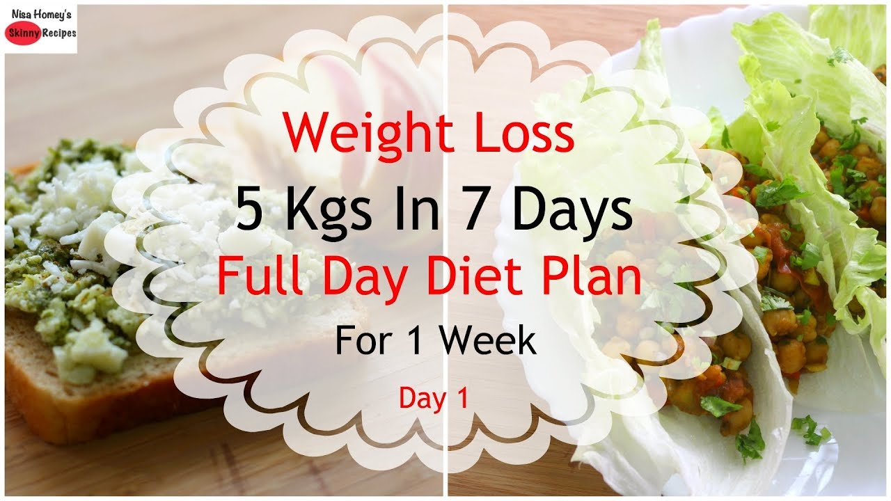 lose 5 kilos in 3 weeks diet plan