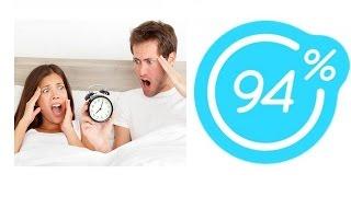 Игра 94% Картинка Проспавшая пара в постели с будильником | Ответы на 17 уровень игры.