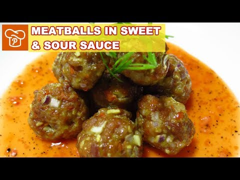 how to cook meatballs in sauce panlasang pinoy