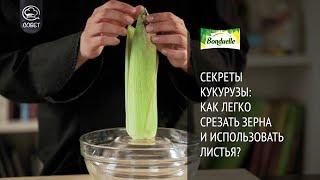 Секреты кукурузы: как легко срезать зерна и использовать листья