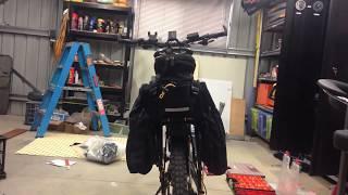 Enduro E-Bike Build - Installing Pannier Rack on Enduro Ebike Frame