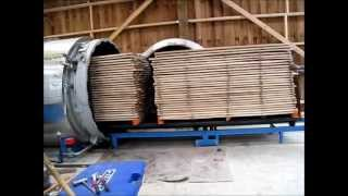 Thermo Modification - Poplar Siding Plant