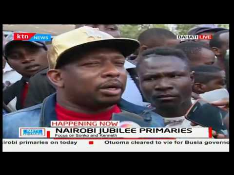 Nairobi Gubernatorial Aspirant Mike Sonko claims some of his strongholds have missing names
