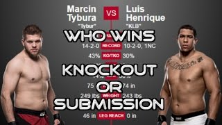 UFC Predictions: Marcin Tybura vs Luis Henrique (UFC 209 Preview)