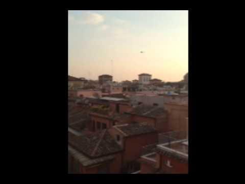 Fr. Luke Melcher's video of Pope Benedict XVI leaving the Vatican