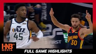 GS Warriors vs Utah Jazz 1.23.21 | Steph Curry 2nd All Time in 3pters | Full Highlights