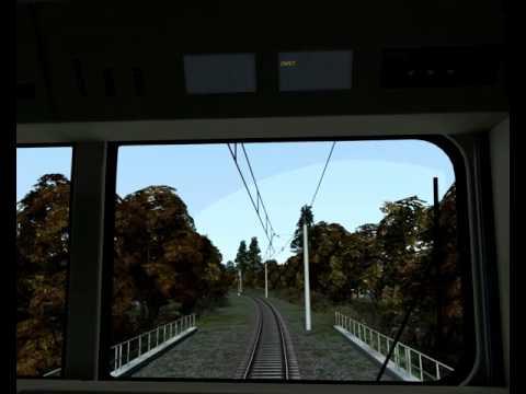 Train Simulator 2016, BR 243 short Test Video.  