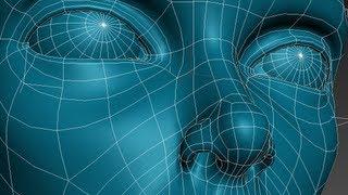 3D Studio Max Face Modeling (short version)