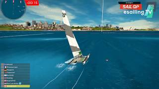 Live stream from the qualifier of esailgp sidney 2020 on virtual regatta inshore.____________________________________________________________________...