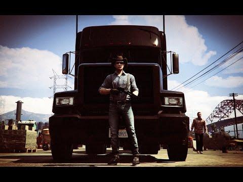 GTA V - Los Santos Truck Simulator [HD][Ep.1]