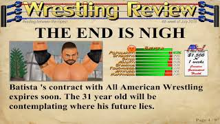 Fatal 5 way tables non elemination match and hiring some new superstars