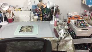 My craftroom clean now !!!