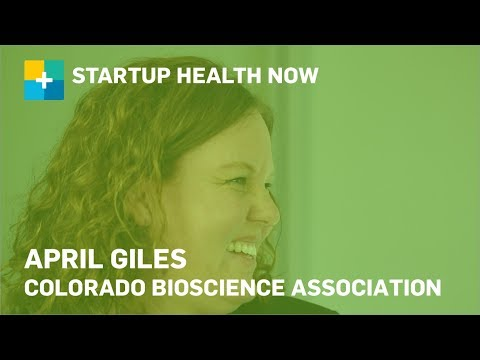 Helping Colorado's Health Innovators Thrive: April Giles, Colorado Bioscience Association: NOW! #127
