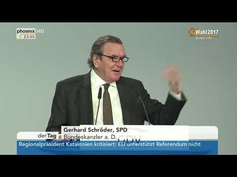 Gerhard Schröder beim Versicherungstag 2017 am 27.09.17