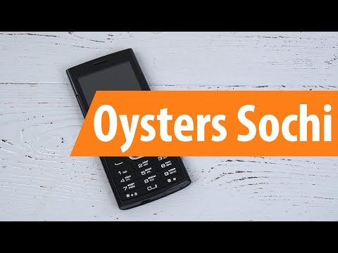 Распаковка OYSTERS Sochi / Unboxing OYSTERS Sochi